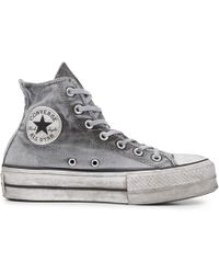 Converse - Chuck Taylor All Star Lift Smoked Canvas High Top - Lyst