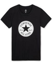 Converse - Chuck Patch Women's T-shirt - Lyst