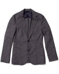 Corridor NYC | Tropical Wool Blazer - Grey | Lyst