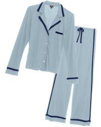 Cosabella - Bella Long Sleeve Top & Pant Pajama Set - Lyst