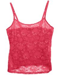 Cosabella - Never Say Never Extended Lace Camisole - Lyst