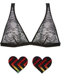 Cosabella - Show Off Tall Triangle Bralette - Lyst