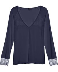 Cosabella - Cheyenne Long Sleeve Pyjama Top - Lyst