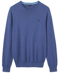 Crew - Foxley V Neck - Lyst