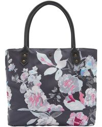 Joules - Cariwell Printed Canvas Shopper Bag (w) - Lyst