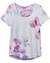 Joules | Daily Print Jersey Ladies T-shirt (w) | Lyst