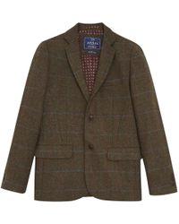 Joules - Langworth Tweed Mens Coat (v) - Lyst