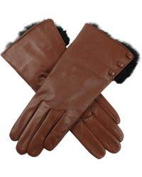 Dents - Sophie Hairsheep Ladies Leather Glove - Lyst