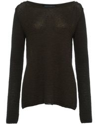 French Connection - Richter Knits Long Sleeve Slash-neck Womens Jumper - Lyst