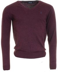 Hackett - Cotton Silk Cashmere Mens V Neck Jumper (aw16) - Lyst