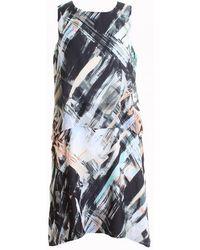 Great Plains - Pastel Paint Layered Womens Dress - Lyst