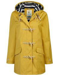 Seasalt - Long Seafolly Womens Jacket - Lyst