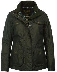 Barbour - Rhossili Womens Wax Jacket - Lyst