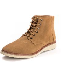 TOMS - Porter Toffee Suede Mens Boot - Lyst