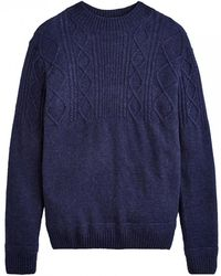 Joules - Shipton Cable Knit Mens Jumper (x) - Lyst