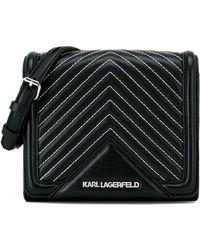 Karl Lagerfeld - K/klassik Quilted Small Crossbody Bag - Lyst