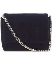 French Connection - Rafa Quilted Velvet Womens Crossbody - Lyst