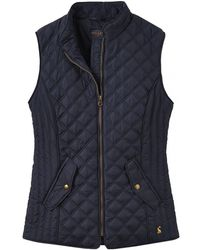Joules Minx Womens Quilted Gilet A/w