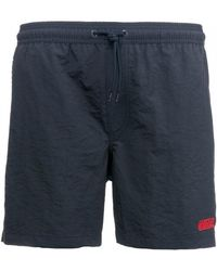 d63bf879fff01 Original Penguin Swim Shorts Slim Fit Small Logo In Pink in Pink for ...