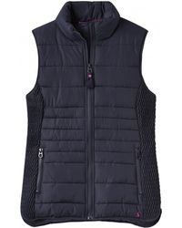 Joules - Fallow Padded Womens Gilet With Funnel Neck (z) - Lyst