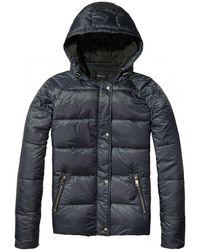 Maison Scotch - Reversible Sporty Womens Padded Jacket - Lyst