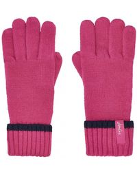 Joules - Anya Womens Chenille Gloves S/s - Lyst
