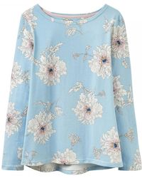 Joules | Harbour Print Womens Jersey Top (x) | Lyst