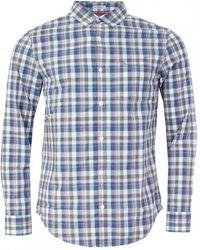 Original Penguin - P55 Madras Check Mens Shirt - Lyst