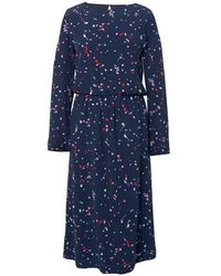 GANT - Fall Leaves Printed Womens Dress - Lyst