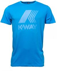 K-Way - Elliot Macro Logo Mens - Lyst