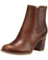 Timberland - Atlantic Heights Covered Gore Womens Chelsea Boot - Lyst