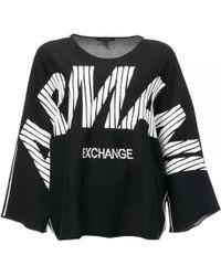 Armani Exchange - Armani Womens Pullover - Lyst
