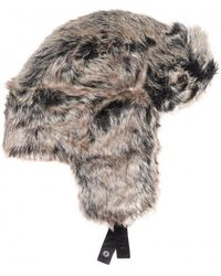 Barbour - Fur Hunter Hat - Lyst