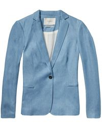Maison Scotch - Tailored Womens Blazer - Lyst