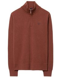 GANT - Sacker Rib Mens Half Zip Sweater - Lyst