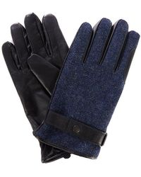 Barbour - Acomb Tweed Glove - Lyst