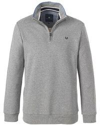 Crew - Classic Half Zip Mens Sweater - Lyst