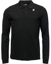 K-Way - Rochel Stretch Mens Polo Shirt - Lyst