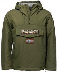 de5f8bf13f9e Napapijri Rainforest Winter 1 Jacket In Dark Grey in Gray for Men - Lyst