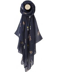 Joules - Wensley Womens Printed Scarf S/s - Lyst
