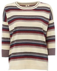 White Stuff - Mosaic Stripe Womens Jumper - Lyst