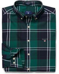 GANT - Tech Prep Twill Big Check Regular Fit Mens Shirt - Lyst