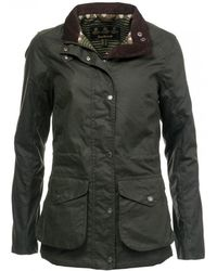 Barbour - Fleetwood Wax Womens Jacket - Lyst