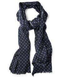 GANT - Dot Wool Ladies Scarf - Lyst