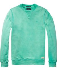 Scotch & Soda - Classic Garment Dyed Mens Sweat - Lyst