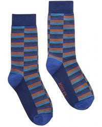 Joules - Striking Single Mens Cotton Single Socks S/s - Lyst