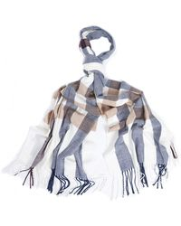 Barbour - Skye Checkwomens Scarf - Lyst