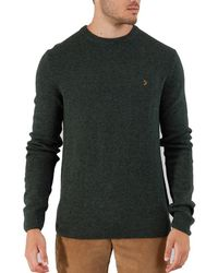 Farah - Rosecroft Crew Neck Mens Sweater - Lyst