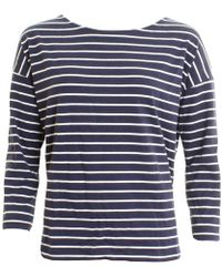 French Connection - Spring Tim Tim Long Sleeve Round-neck Womens Top - Lyst