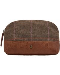 Joules - Short Haul Tweed Womens Small Travel Bag S/s - Lyst